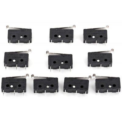 0.5A 125V / 250V 3Pin Power Control Micro Switches for DIY  -  10PCS