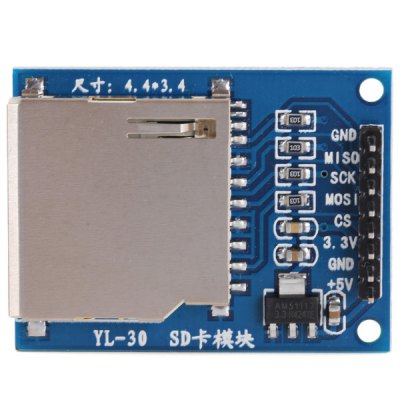 DIY SD Card Reading Writing Module Works with Official Arduino Boards