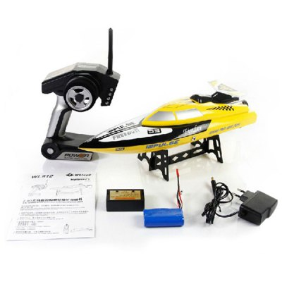 Фотография WLtoys WL912 Water Finder 2.4G Remote Control Speed Racing Boat Anti - capsizing Freedom Impluse RC Boat Toy