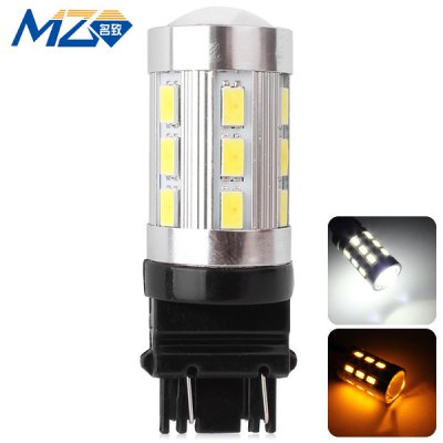 MZ T25 12W 1200lm White and Yellow Light 24 SMD 5630 LEDs Car Backup Light