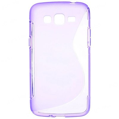 Anti - dust S Shape TPU Back Cover Case for Samsung Galaxy Grand 2 Duos G7102 G7100 G710S G7106