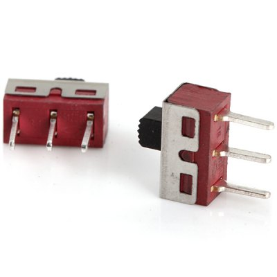 Гаджет   AC 125V 2A 3Pin Slide Switches for Learners to DIY  -  10PCS DIY Parts & Components