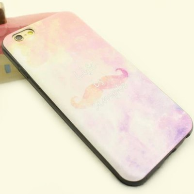 ФОТО Stylish Starry Sky Pattern TPU and PU Material Back Cover Case for iPhone 6 Plus  -  5.5 inch