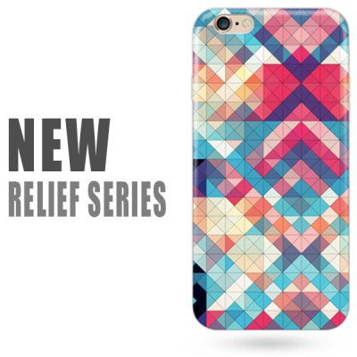 Falabela Relief Series Back Cover Case for iPhone 6 Plus - 5.5 inch