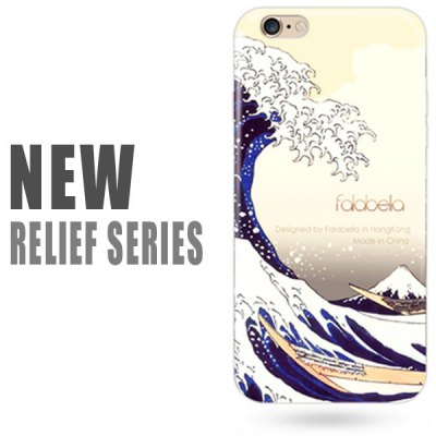 Фотография Falabela Ultra - thin Relief Series Back Cover Case for iPhone 6 Plus  -  5.5 inch