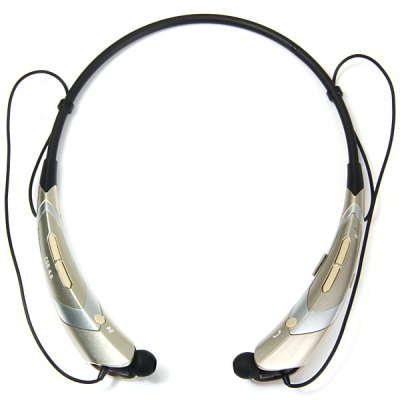 Гаджет   HBS - 760 Sports Bluetooth 4.0 Handsfree Headset Neckband Earphone Volume Control Song Switch with Armband for Smartphones Tablet PC Earphones