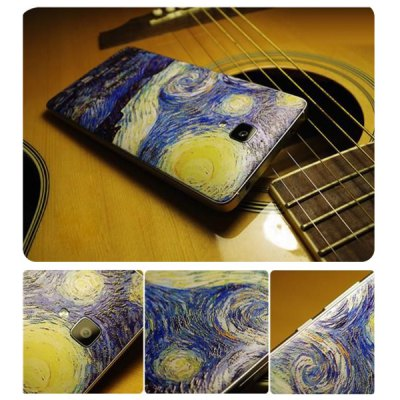 Falabela Starry Sky Pattern 3D Coloured Sculpture Protective Case for Xiaomi 4
