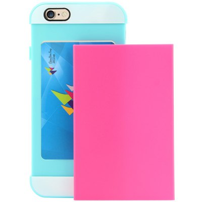 Фотография Link Dream Contrast Color PC and TPU Material Back Case for iPhone 6 Plus  -  5.5 inches