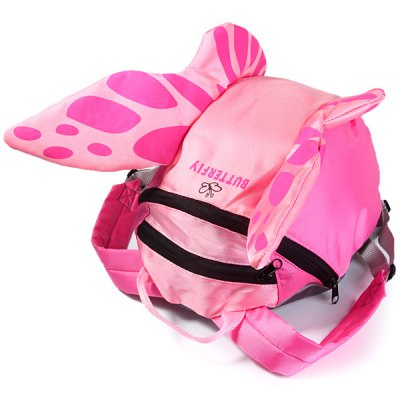 ФОТО Cute Children Bag Backpack with Butterfly Pattern Design for Kids