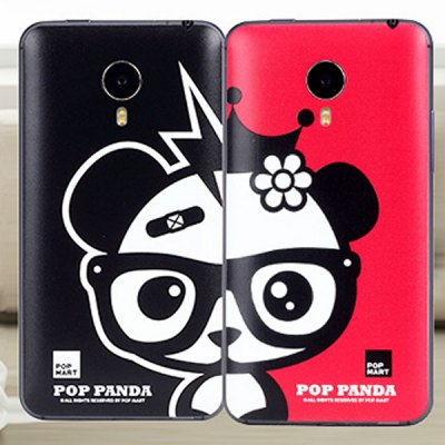 ФОТО Black Panda Style ABS and Plastic Material Protective Case for MeiZu Mx4 Pro