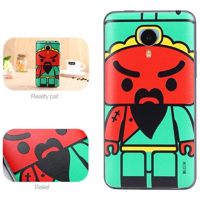 ФОТО Guan Yu Style ABS and Plastic Material Protective Case for MeiZu Mx4 Pro