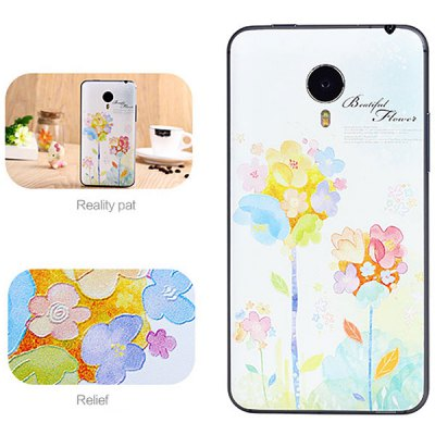 ФОТО Flowers Posture Style ABS and Plastic Material Protective Case for MeiZu Mx4 Pro