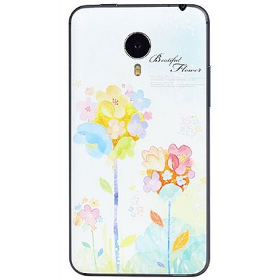 Flowers Posture Style ABS and Plastic Material Protective Case for MeiZu Mx4 Pro