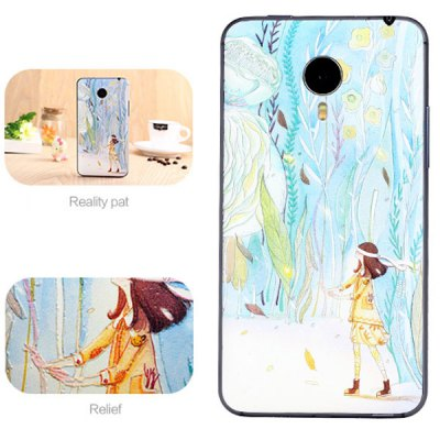 ФОТО Little Girl Style ABS and Plastic Material Protective Case for MeiZu Mx4 Pro