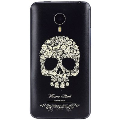 Skeleton Seal Style ABS and Plastic Material Protective Case for MeiZu Mx4 Pro