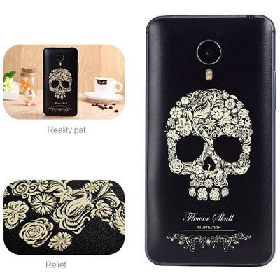ФОТО Skeleton Seal Style ABS and Plastic Material Protective Case for MeiZu Mx4 Pro