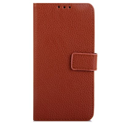 Litchi Texture Design Full Body Case with Card Holder Stand for Nokia N735