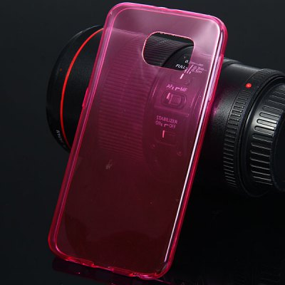 TPU Material Back Cover Case for Samsung Galaxy S6 G9200