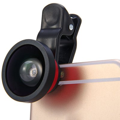 LIEQI LQ002 Clamp Camera Lens 0.4X Super Wide Angle