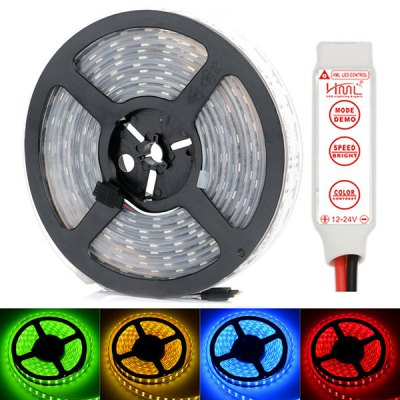 HML 5M 144W 600 x SMD 5050 Water Resistant RGB LED Light Strip