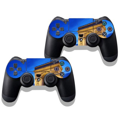 Фотография Waterproof Anti-dust Triumphal Arch Pattern Stickers for PS4 Game Player Handle