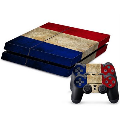 National Flag Pattern Stickers for PS4 Game Player Handle