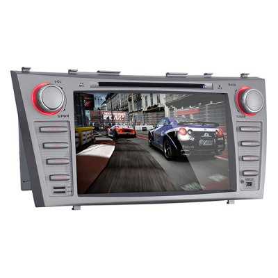 Фотография 8 Inch Touch Screen Android 4.4.4 Double Din Car DVD Player with GPS Navigation OBD WiFi Airplay