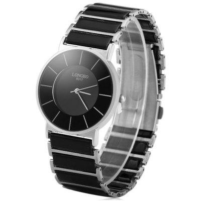 Longbo 8317 Ceramic Quartz Men Watch