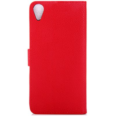Фотография Litchi Texture Design Full Body Case with Card Holder Stand for HTC Desire 820 D820T