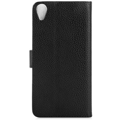 Litchi Texture Design Full Body Case with Card Holder Stand for HTC Desire 820 D820T