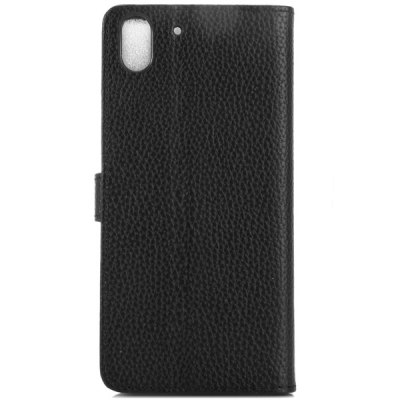 Гаджет   Litchi Texture Design Full Body Case with Card Holder Stand for HTC Desire Eye Other Cases/Covers