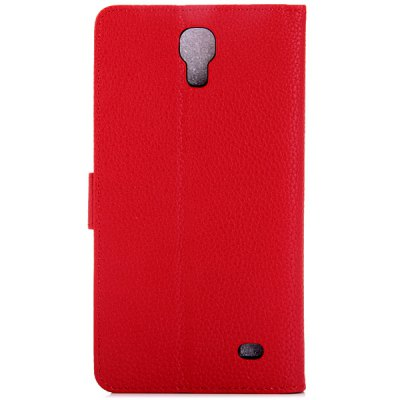 Litchi Texture Design Full Body Case with Card Holder Stand for Samsung Galaxy Mega 2 G750F