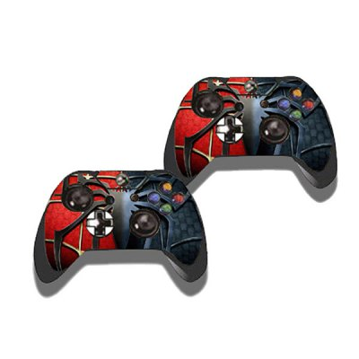 Фотография Spider Style Game Console Gamepad Controller Stickers Skin for Xbox One