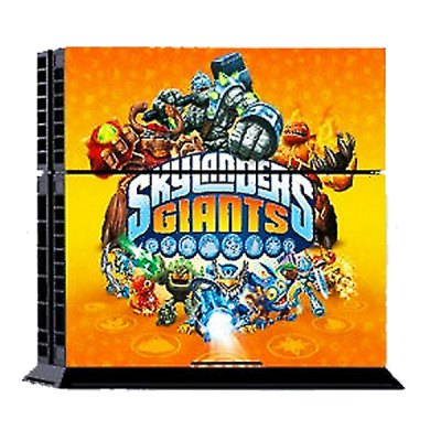 Skylanders Giants Style Game Console Gamepad Controller Stickers Skin for PS4