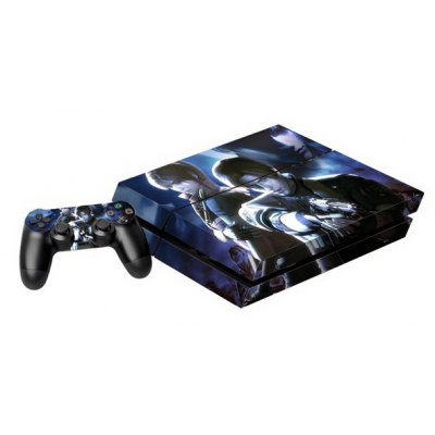 Game Console Gamepad Controller Stickers Skin for PS4