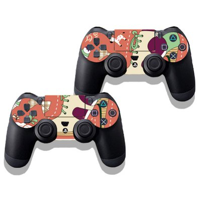 Фотография High Heels Style Game Console Gamepad Controller Stickers Skin for PS4