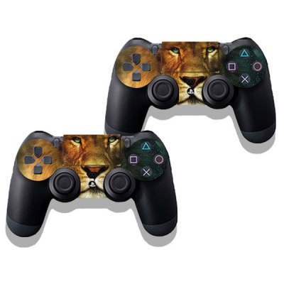 Фотография Lion Style Game Console Gamepad Controller Stickers Skin for PS4
