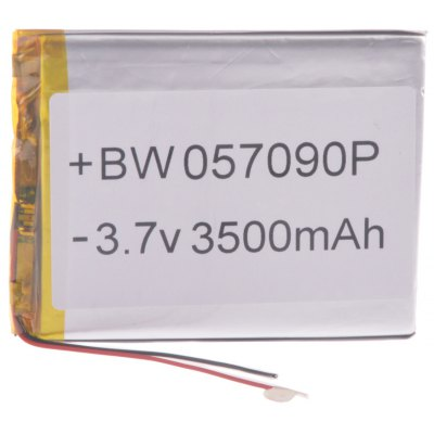 057090P Universal Replacement 3.7V 3500mAh Li - polymer Rechargeable Battery