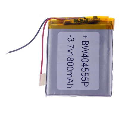 404555P 3.7V 1800mAh Lithium Polymer Battery Universal Replacement