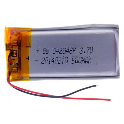 042048P Universal Replacement 3.7V 500mAh Li - polymer Rechargeable Battery for Cellphone MP3 MP4