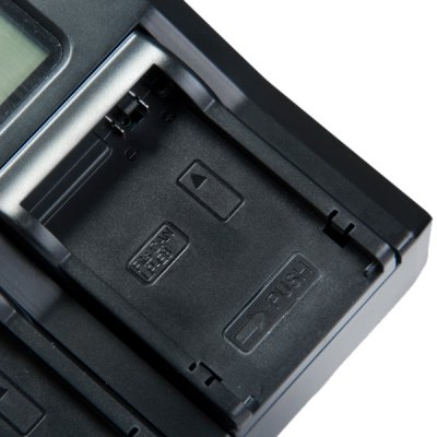 Фотография Two Slots LP  -  E8 Digital Camera Battery Charger for Canon with 3.1 inch LCD