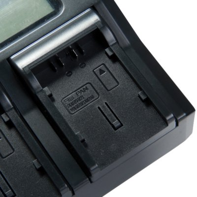 Фотография Two Slots Digital Camera DU07 / 14 / 21 Battery Charger for Panasonic with 3.1 inch LCD