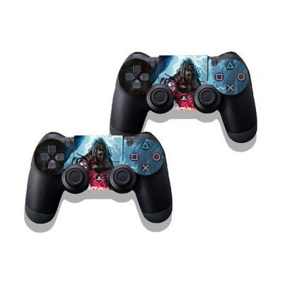 Фотография Two Steps From Hell Style Game Console Gamepad Controller Stickers Skin for PS4