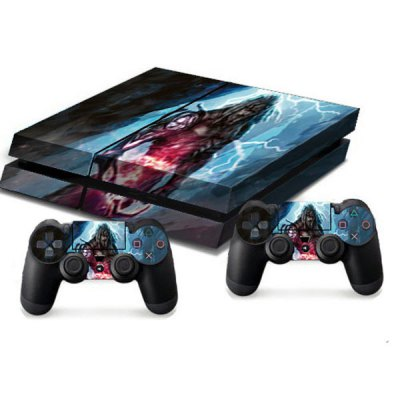 Гаджет   Two Steps From Hell Style Game Console Gamepad Controller Stickers Skin for PS4 Video Game