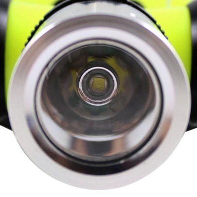 Kinfire KQ  -  Y Cree XML  -  T6 LED Diving Headlight ( 800Lm 3 Modes 3 x AAA / 1 x 18650 Battery )
