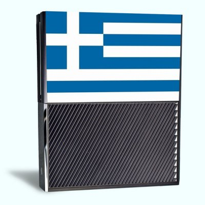 Гаджет   Greek Flag Style Game Console Gamepad Controller Stickers Skin for Xbox One Video Game