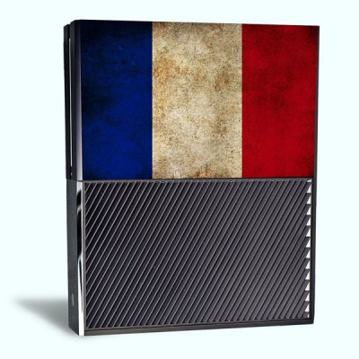 Гаджет   French Flag Style Game Console Gamepad Controller Stickers Skin for Xbox One Video Game