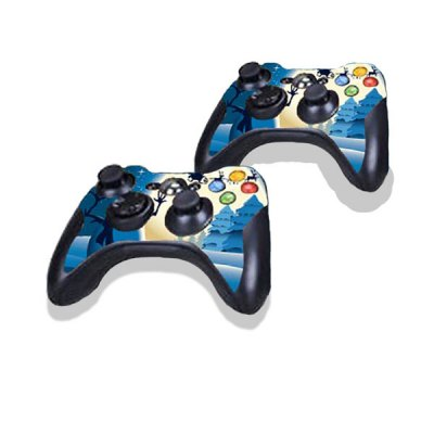 Гаджет   Snowman Style Game Console Gamepad Controller Stickers Skin for Xbox 360E Video Game