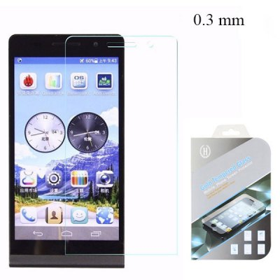 Фотография 0.3mm 2.5D Temeped Glass Anti - fingerprint Explosion - proof Screen Protector for Huawei Ascend P6