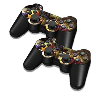 Фотография Fruit Style Game Console Gamepad Controller Stickers Skin for PS3 Slim 4000